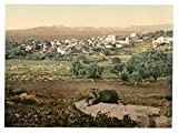Historic Photos General view, Jenin, Holy Land, (i.e, West Bank)