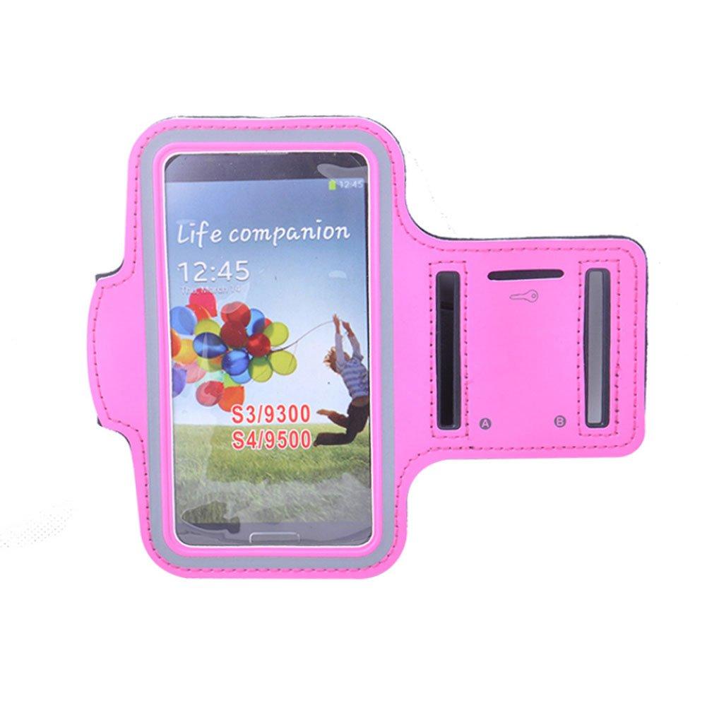 [PINK] sportliches Armband + Schlüsselhalter für 4,7 bis 5 Zoll-Smartphone Blancho Bedding