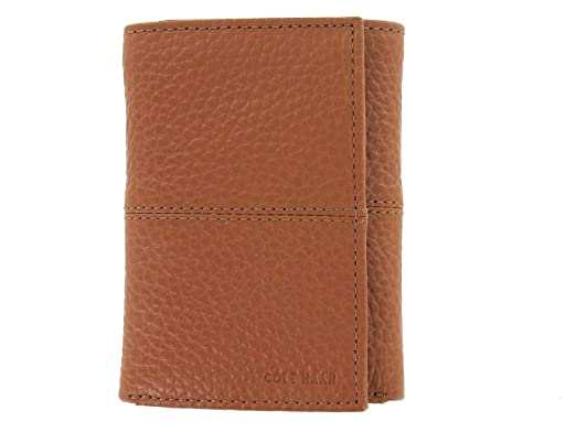 b3107fde855 Cole Haan Trifold Men's Wallet Brown Leather at Amazon Men's ...