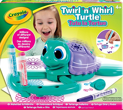 Crayola Twirl n Whirl Turtle Spiral Arts and Crafts Toy  Crayola   Amazon.co.uk  Toys   Games d4a8cda06