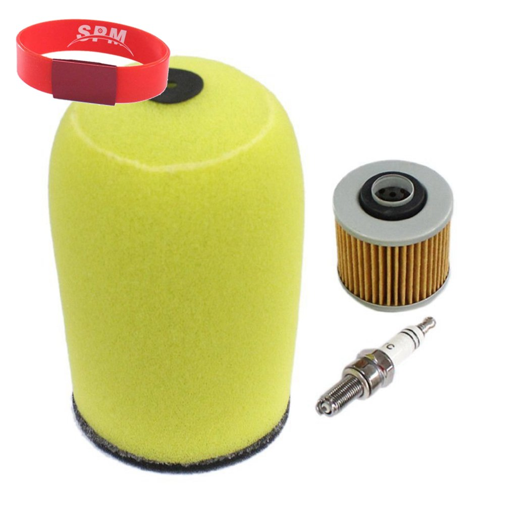 SPM Air Filter with Spark Plug Oil Filter for Yamaha Raptor 700R 700 YFM700 YFM700R