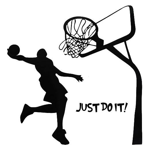 philmat Just Do It Baloncesto pared DIY extraíble deportes Home ...