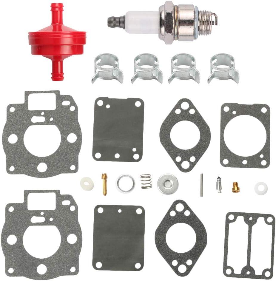 Fuel Li 693503 693501 Carburetor Rebuild Overhaul Kit for 42A707 42A777 422432 42B707 42D707 42D777 42E707 422435 422437 Engine