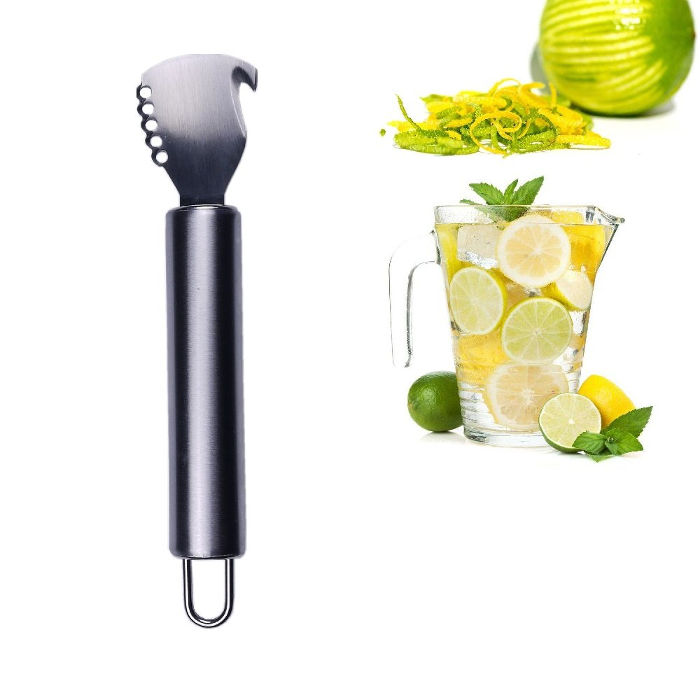 2 In 1 Lemon Zester Orange Critus Peeler