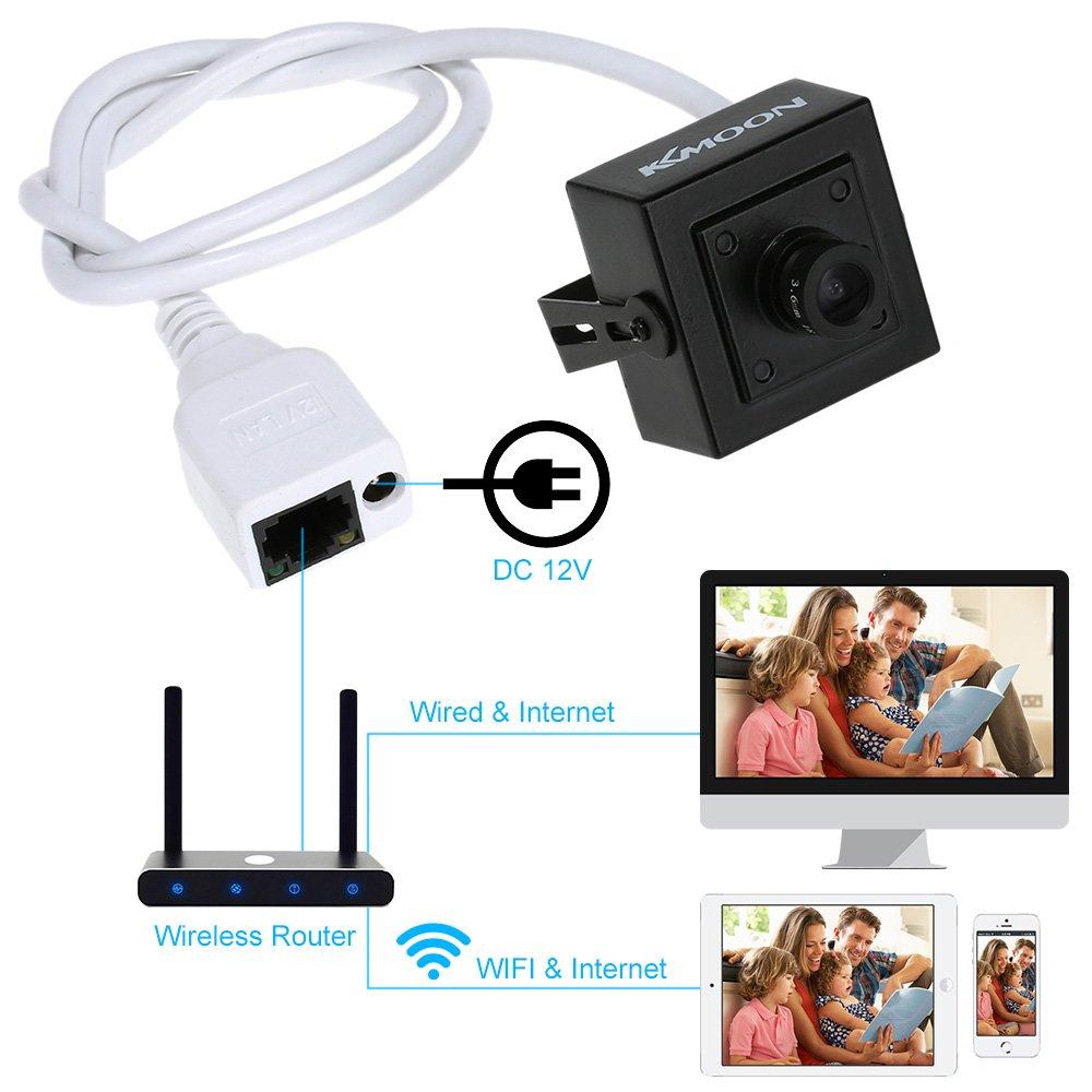 264 - Cámara de detección del movimiento (cámara para videovigilancia, HD 720p IR-CUT-IP): Amazon.es: Bricolaje y herramientas