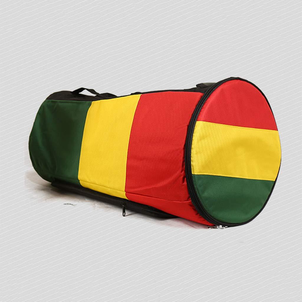 13inch 63x58cm Almencla Djembe African Drum Shoulder Carry Storage Thicken Bag Backpack