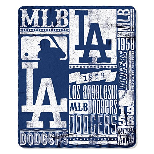 (Los Angeles Dodgers 50x60 Fleece Blanket - Strength Design)