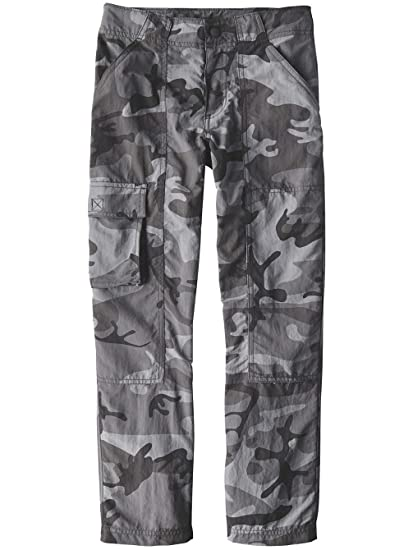 ba909bab31b4 Pants Kids Patagonia Baggies Cargo Pants Boys  Amazon.co.uk  Clothing