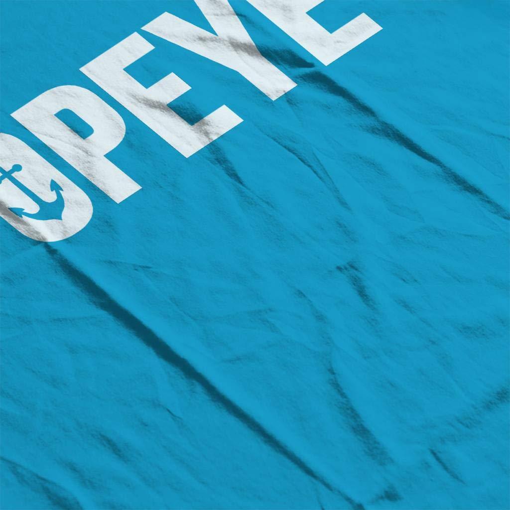 Popeye Anchor Logo Mens Sweatshirt