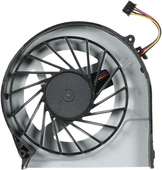 Docooler CPU Cooling Fan Cooler for HP Pavilion G6-2000 Laptop PC 4 Pin 4-Wire