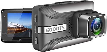 HD 1080P Car DVR Vehicle Camera Video Recorder Motion Detection Parking Monitoring Loop Recording Dash Cam Night Vision 1.7 inch G-Sensor 170/° Wide Angle