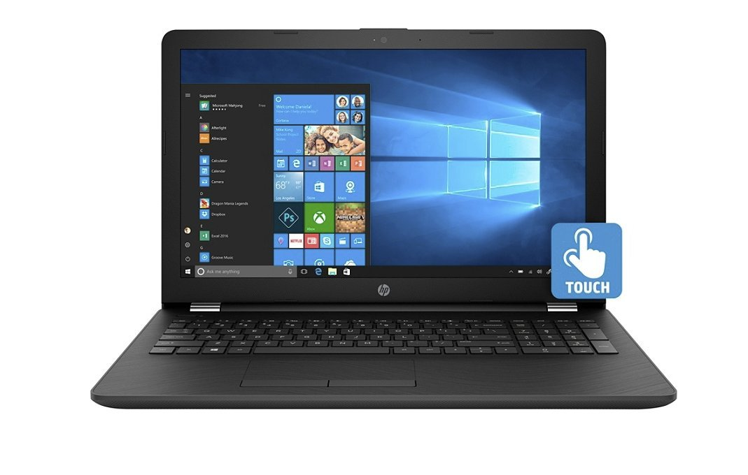 HP 15.6'' HD Premium Touchscreen Notebook (2018 Newest), Latest 8th Gen Intel Core i7-8550U Processor up to 4.00 GHz, 8GB DDR4, 1TB Hard Drive, DVD RW, Webcam, Bluetooth, Windows 10 Home