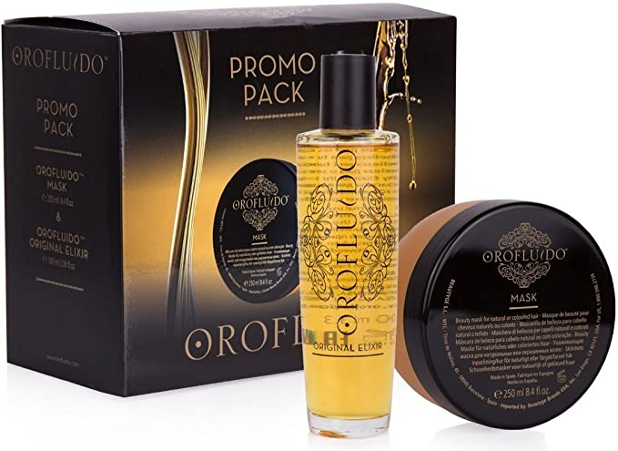 Orofluido Special Pack Mask 250 ml + Original Elixir 100 ml: Amazon.es: Belleza