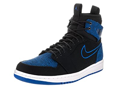 e0745aa19078d9 Jordan Air 1 Retro Ultra High Men s Shoes Black White Sport Royal 844700-