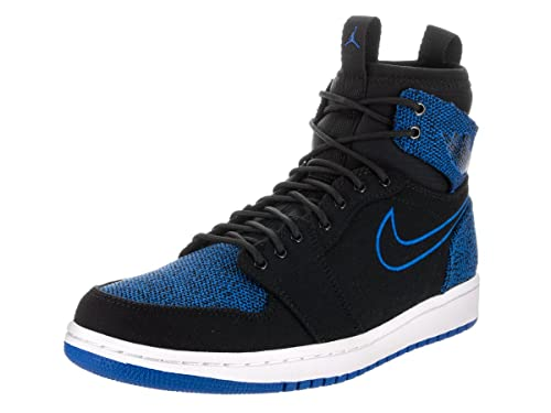 0c1910984cde6c Nike Jordan Mens Air Jordan 1 Retro Ultra High Black Sport Royal Black White  Basketball Shoe 9.5 Men US  Buy Online at Low Prices in India - Amazon.in