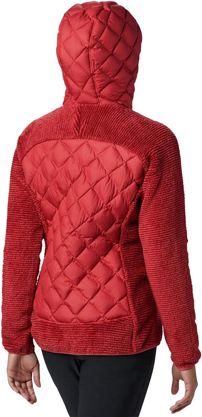 Columbia Techy Hybrid Fleece Giacca in pile da donna Donna