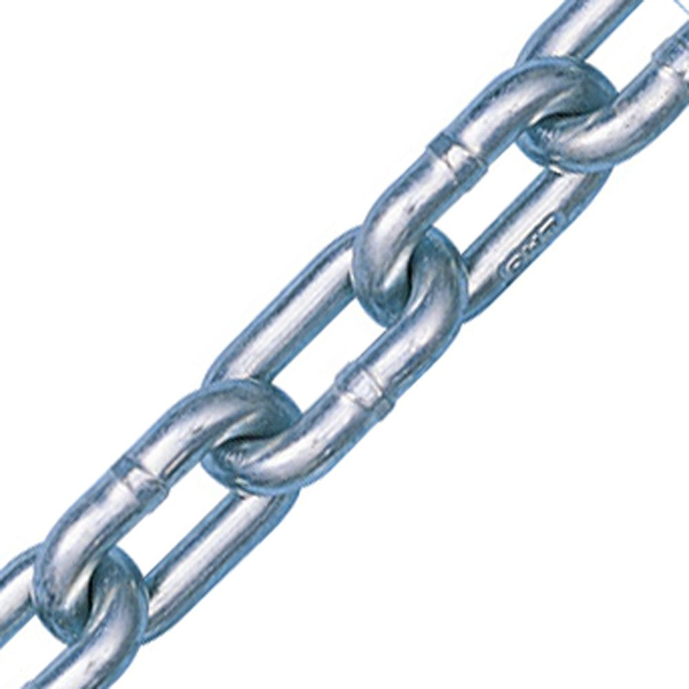 5/16'' x 275' Peerless Grade 43, Zinc Plated, High Test Chain, USA by Peerless