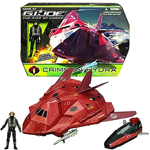 G.I. Joe The Rise of Cobra Crimson Hydra with Aero Viper Action Figure