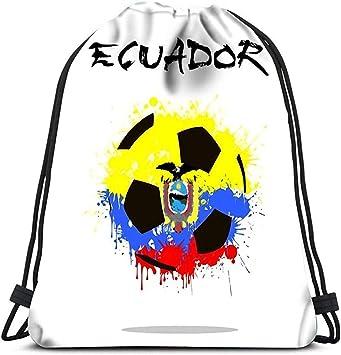 Bolsas Cinch Deportes Cinch Resumen Balón De Fútbol Bandera De ...
