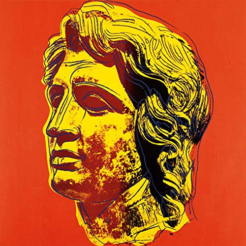 Posters: Andy Warhol Poster Art Print - Alexander The Great, 1982 (Yellow Face) (14 x 11 inches) (1982 Poster Print)