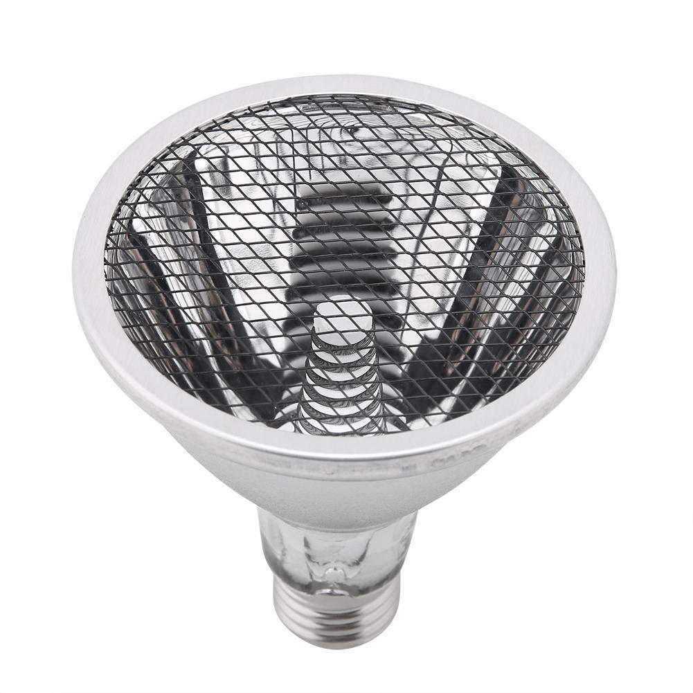 40W Reptile Ceramic Heating Lamp Light for Pet Coop Heater Chicken Lizard Turtle Brooder Aquarium Snake Reptile Heat Lamp Bulb