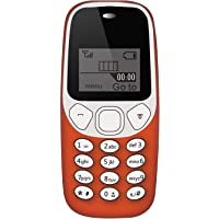 IKALL K74 Basic Phone with Vibration Single Sim 1.44 Inch Display (Red)