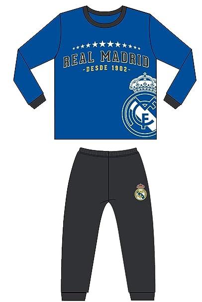 Pijama Coralina Invierno Niño Real Madrid Estrellas (16)  Amazon.es ... 12d38e46252ad