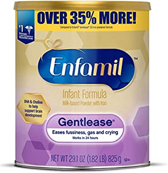 4-Pack Enfamil Gentlease Sensitive Baby Formula Milk Powder 29.1oz