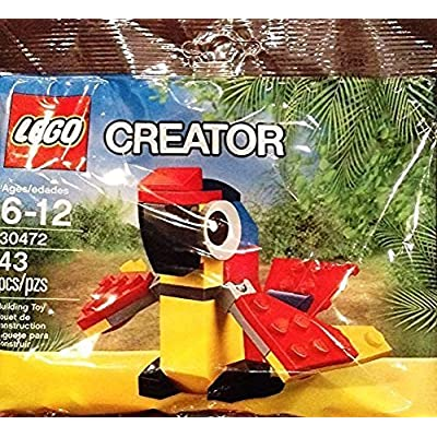LEGO Creator Polybag Mini Build Animal Exclusive Promotional Set - Parrot (30472): Toys & Games