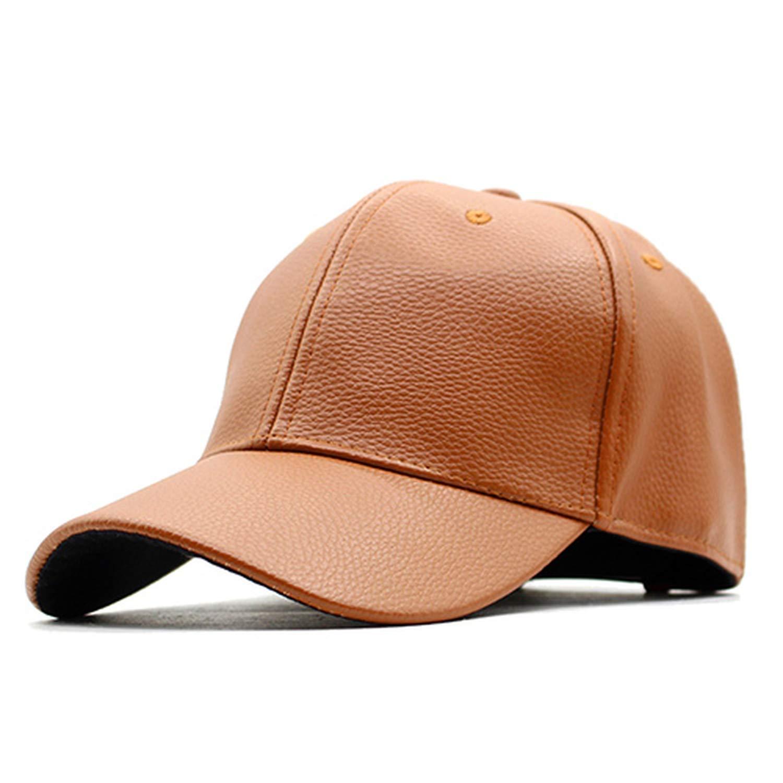 Fashion Baseball Cap Men Leather Caps Women PU Blank Plain Bone Spring Summer Hats for Men Hip hop Caps 2019