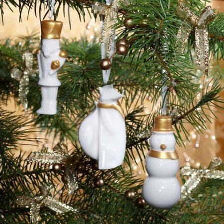 Starbucks Ceramic Holiday Ornament Set (Starbucks Gift Sets Christmas)