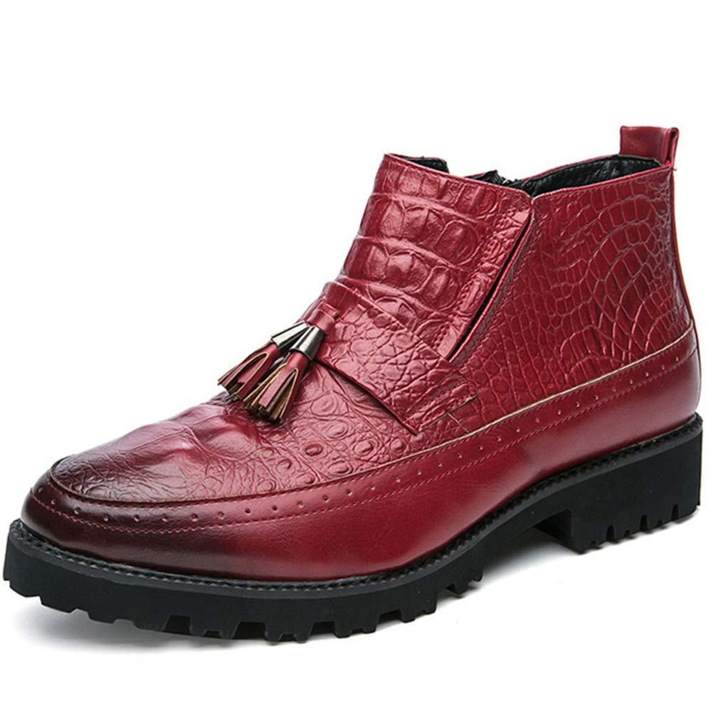 GordonKo Men Casual Oxfords Shoes Mens Dress Business Party Wedding Oxfords Shoes