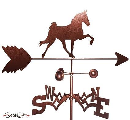 SWEN Products TENNESSEE TN WALKER HORSE Steel Weathervane