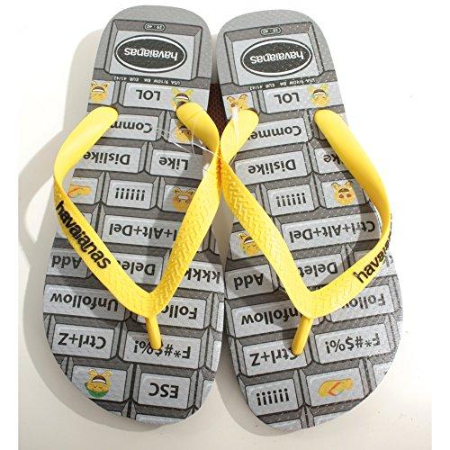 Havaianas Men's Mood Flip Flops Emoji Print Footbed Beach/Pool Thong Sandals:  Amazon.de: Schuhe & Handtaschen