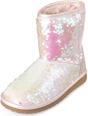 Kids' Faux Shearling Fashion Boot