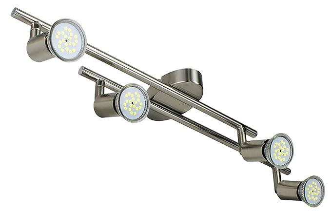 Plafoniere Da Forno : Velouer plafoniera in girevole incl.lampade led gu10 4x5w bianco