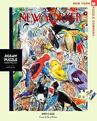 (New York Puzzle Company - New Yorker Bird Cage - 1000 Piece Jigsaw Puzzle )