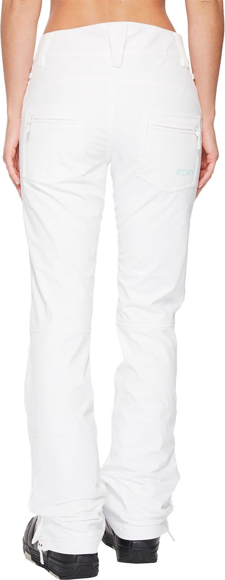 Roxy Snow Junior's Creek Snow Pant, Bright White New, XL by Roxy (Image #3)