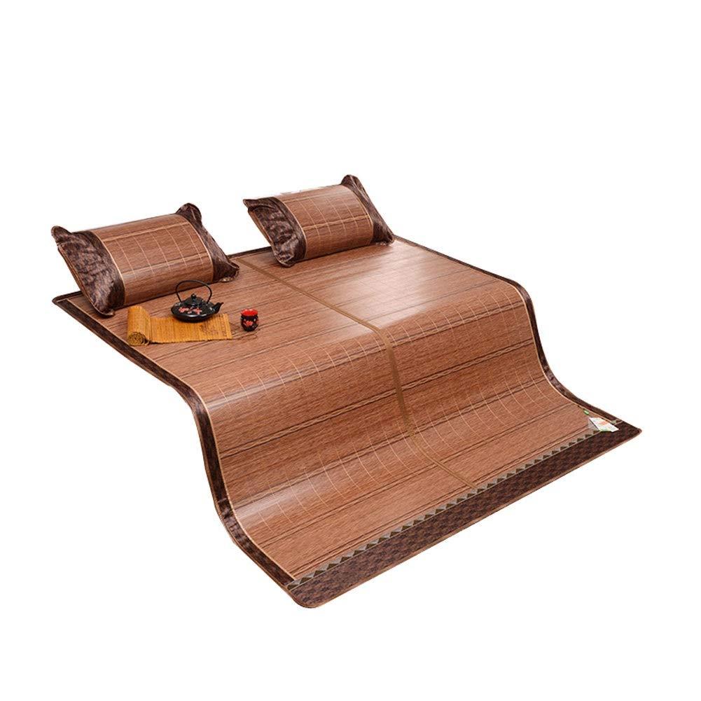NLNL 夏用スリーピングマット夏用スリーピングパッド竹マット籐マットレスマットレストッパー両面マットスリーピーススーツ (Size : 1.5x2.0m) B07TGZKKNR  1.5x2.0m