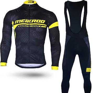 Traje de ciclismo Conjunto de traje de ciclismo para hombre ...