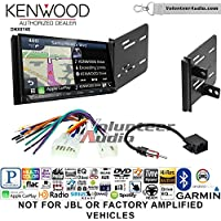 Volunteer Audio Kenwood DNX874S Double Din Radio Install Kit with GPS Navigation Apple CarPlay Android Auto Fits 2013-2015 Scion FR-S, BR-Z