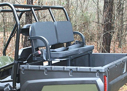 Deluxe Rumble Seat Utility Vehicle Passenger Seat By Great Day UVDRS200BL