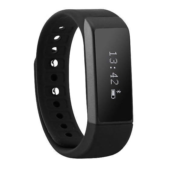 aoda i5 Plus Bluetooth 4.0 podómetro Relojes pulsera de fitness Tracker Reloj de Deportes impermeable con