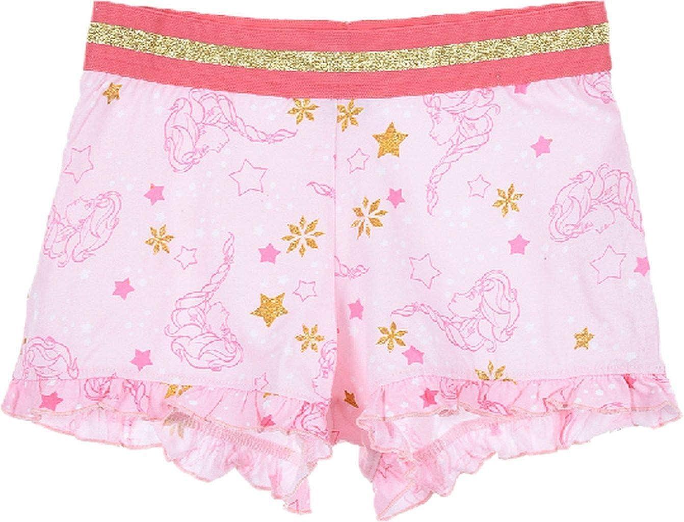 Disney die Eisk/önigin Shorty Kurzarm Schlafanzug mit Gold Applikationen