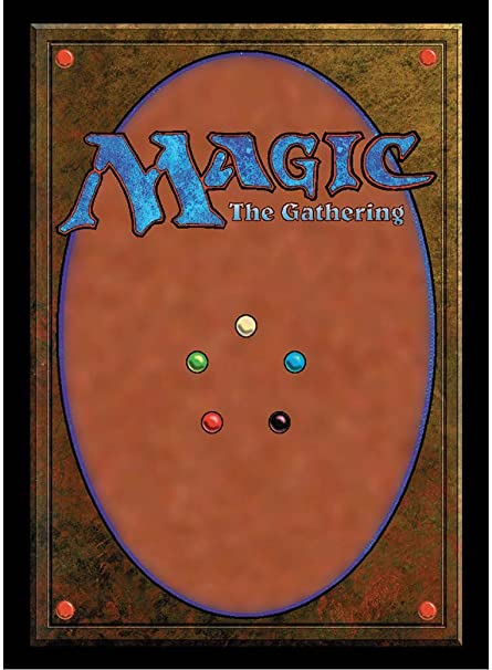 graphic relating to Magic the Gathering Set Symbols Printable titled Extremely Expert Magic: The Collecting Clic Card Back again Deck Protector Sleeves (100 Depend)