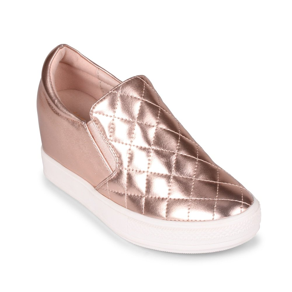 Wanted Womens Bushkill Wedge B01L2UAK7E 10 B(M) US|Rose Gold