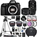 Canon EOS 6D Mark II DSLR Camera w/ 4 Lens Bundle including 2.2x Telephoto & 0.43x Aux Wide Angle Lens Reviews