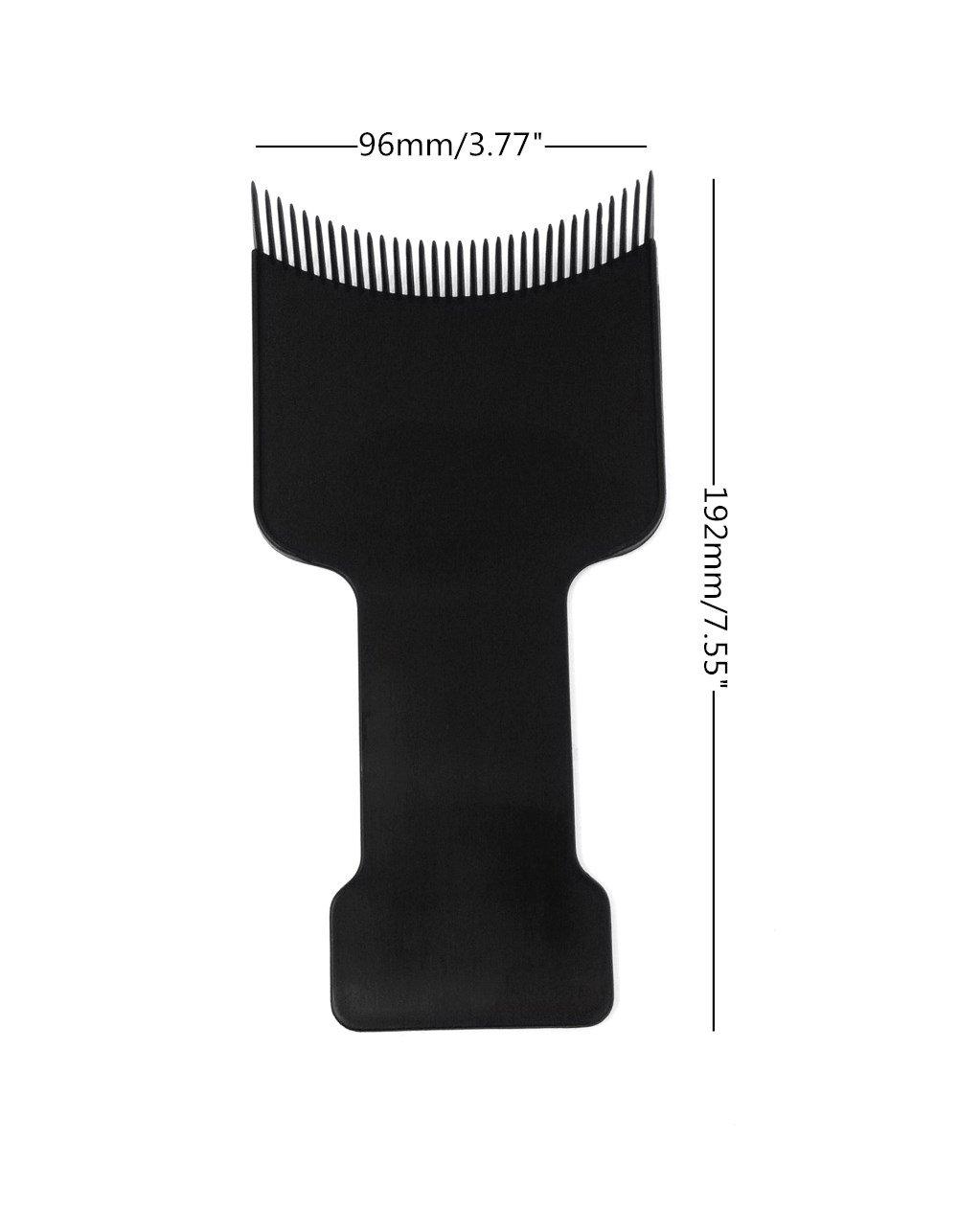 Honbay 2pcs Barber Flat Top Paddle Board Comb Hair Balayage Highlights Board Hair Coloring Kit for Hair Dye : Beauty
