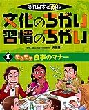 それ日本と逆!?文化のちがい習慣のちがい〈1〉モグモグ食事のマナー