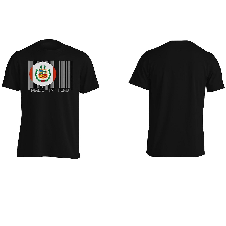 Hecho en el mundo del viaje de perú novedad divertida Camiseta de los hombres uu40m: Amazon.es: Ropa y accesorios